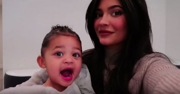 Kylie Jenner Reveals Brand New Kylie Cosmetics Collab With Daughter Stormi Webster and We're Shook