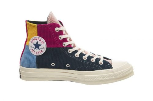 Converse Adds Colorblocked Corduroy Patchwork to the Chuck 70