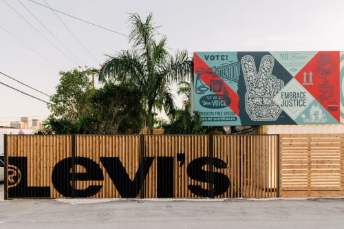 Levi's Launches Art Basel Customization Experience With Futura, Shepard Fairey & More