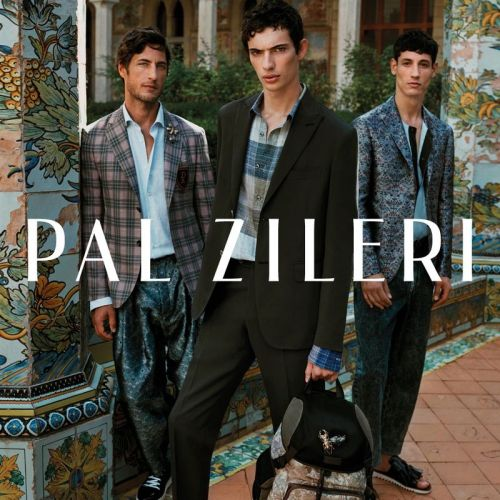 Axel Hermann, Piero Mendez & Nicolas Ripoll Don Elegant Style for Pal Zileri Spring '19 Campaign