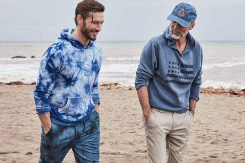 Coastal Cool: Parker Gregory & Ben Desombre Don Blue Styles for Macy's