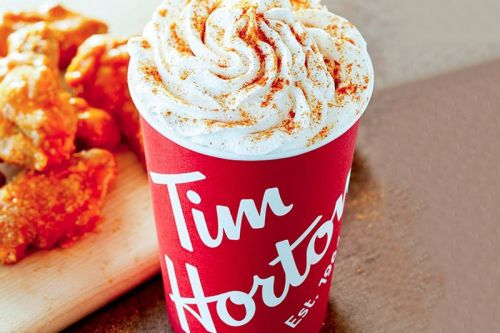 Tim Hortons Debuts Buffalo Wings-Flavored Latte