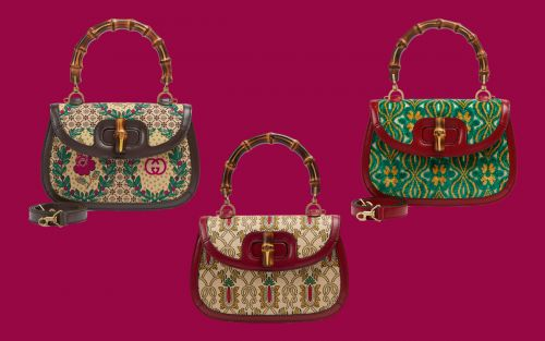 Ten Loves: Gucci Garden Bamboo Bag