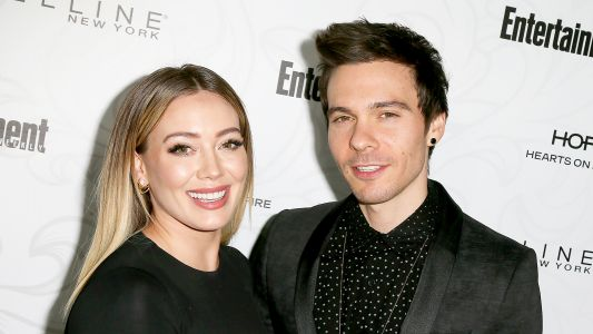 Hilary Duff's Fiancé Matthew Koma Apologizes to Her With Hilarious NSFW Gift