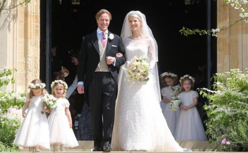 Lady Gabriella Windsor weds in Luisa Beccaria