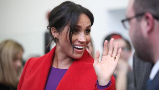 Meghan Markle Spotted Shopping at High-End Kids' Store in NYC Ahead of Her Due Date
