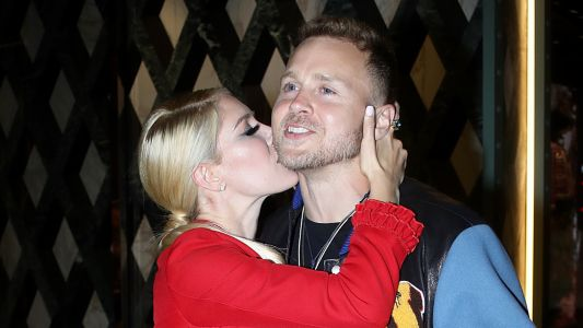 Steamy! Heidi and Spencer Pratt Pack on the PDA at a Private Gucci Party on Rodeo Drive