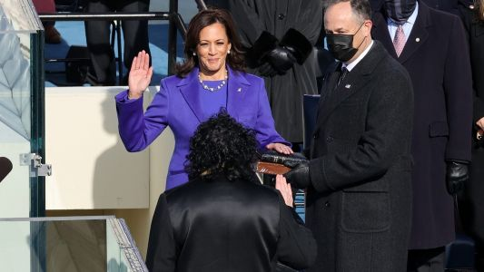 Kamala Harris Is Officially Sworn In As Vice-President