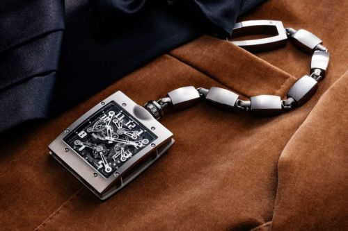 Richard Mille Rethinks the Pocket Watch With New Tourbillon Timepiece