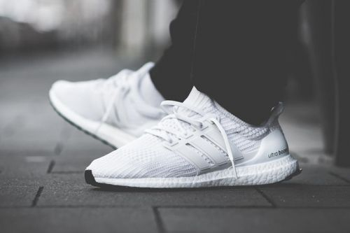 """Adidas Adds A """"Core White"""" UltraBOOST 4.0 Model to the Family"""