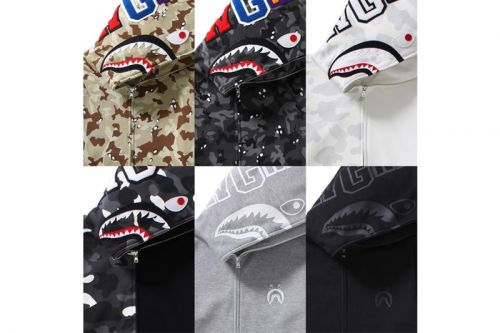 BAPE Is Releasing Six Colorways of Its Iconic Shark Hoodie