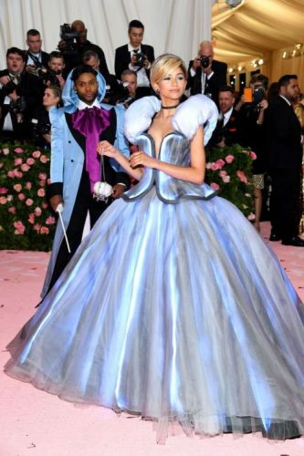 Zendaya Is Cinderella-Complete with Fairy Godmother and Light-Up