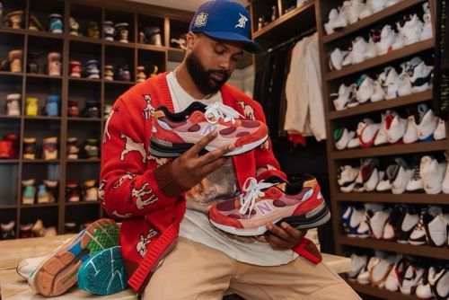 """Sole Mates: Steelo Brim and the Joe Freshgoods x New Balance 992 """"No Emotions Are Emotions"""""""