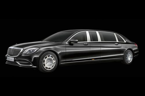 Mercedes-Maybach Reveals Updated Pullman Model