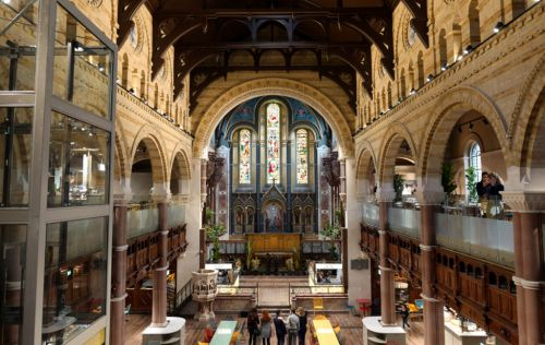 Seafood in a church? You can, at Cha Cha Mayfair