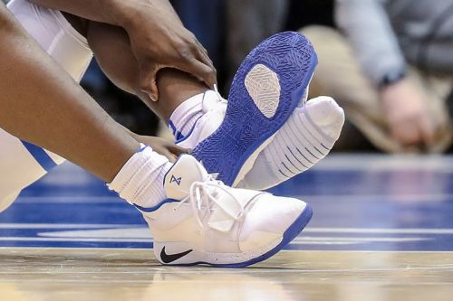 Zion Williamson's Blown Out Nike PG 2.5 PE Sneaker Is Valued at $250K USD
