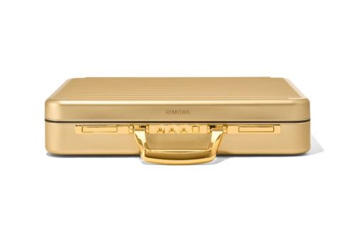 RIMOWA Releases $1,800 USD Limited Edition Gold Attaché Briefcase