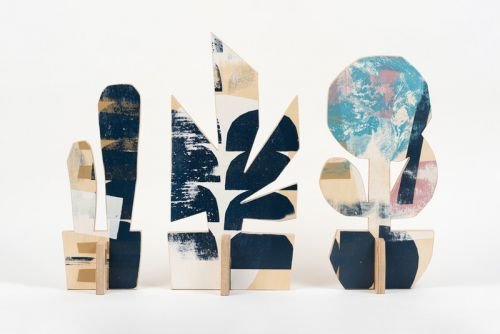 Cody Hudson Crafts Plant-Shaped Wooden Sculptures for Louis Buhl & Co