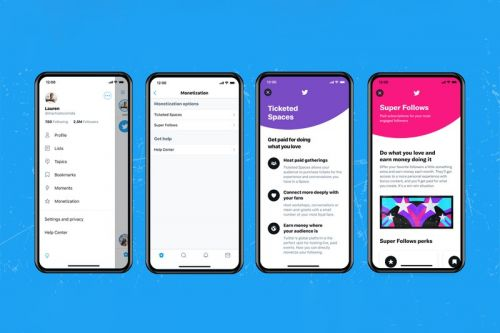 Twitter Follows OnlyFans With Launch of Super Follows and Ticketed Spaces