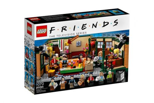 LEGO Celebrates 'Friends' 25th Anniversary With 1,070-Piece Central Perk Set