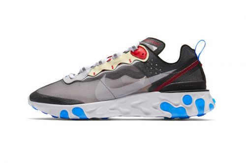"Nike's React Element 87 ""Dark Grey"" & ""Desert Sand"" Receive an Official Release Date"