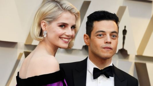 Lucy Boynton and Rami Malek Cement Fashion Power Couple Status