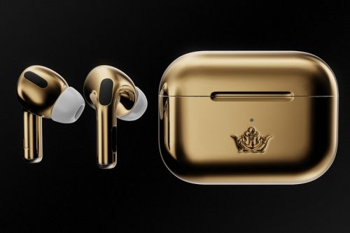 Luxury Gold AirPods Pro by Caviar Costs $67,000 USD