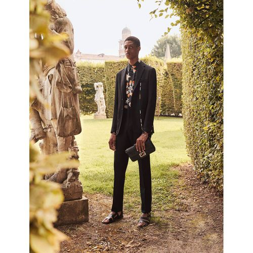 Fendi Serve Gardening Couture as Luca Guadagnino Shoots the Fendi Men's SS20 Campaign