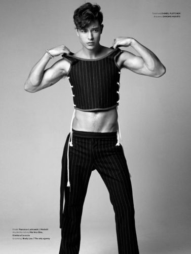 Francisco Lachowski Rocks Statement Tailoring for L'Officiel Hommes Poland