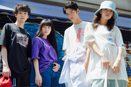 FILA Launches Apparel and Sneaker Collaboration with 'Mobile Suit Gundam'
