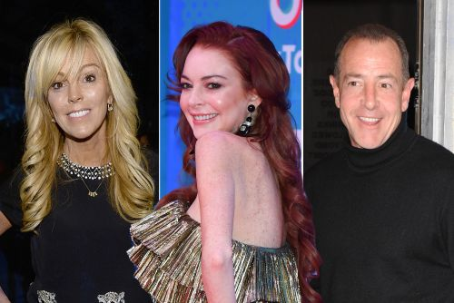 Lindsay Lohan tried to 'Parent Trap' Dina and Michael in real life