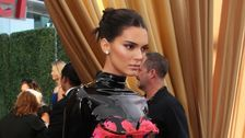 Kendall Jenner Wears A Latex Turtleneck To The Emmys And, Honestly, Work