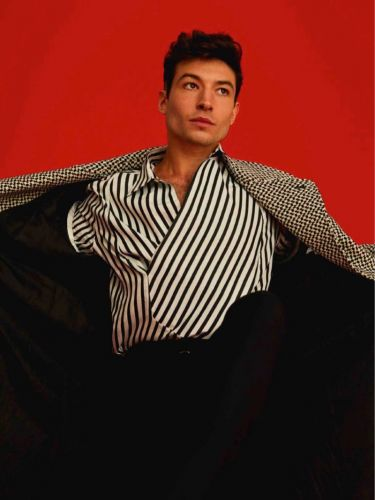Ezra Miller Dons Bold Style for GQ España Cover Shoot
