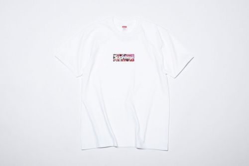 Supreme's Takashi Murakami Box Logo T-Shirts Garner Over $1 Million USD for Charity