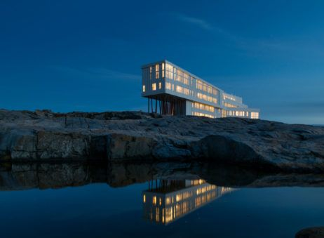 Forage and Fire Itinerary at Fogo Island Inn