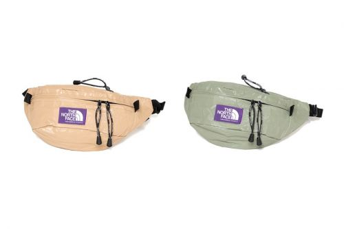 THE NORTH FACE PURPLE LABEL Drops Tech Paper Waist Bags