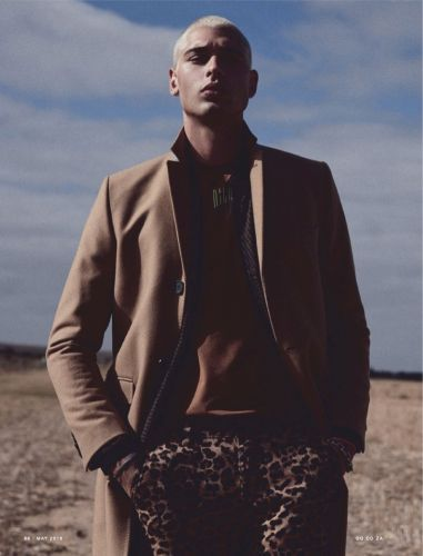 Off-Duty: Evan Leff for GQ South Africa