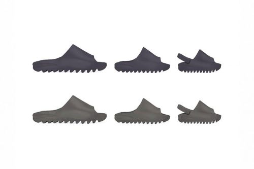 """The adidas YEEZY SLIDE is Soon to release in """"Core"""" and """"Soot"""""""