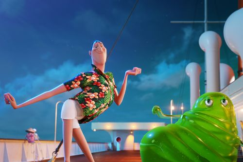 How a family trip inspired 'Hotel Transylvania 3'