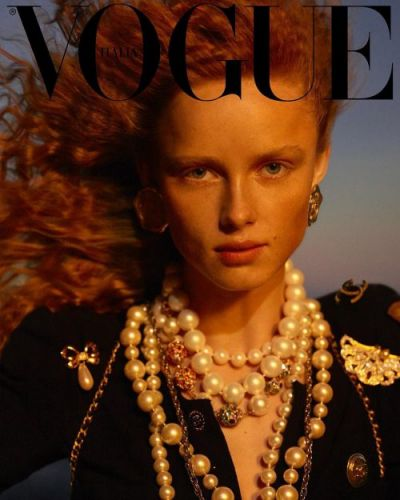Giovanni counts down his Vogue Italia departure with help from Karim Sadli and Rianne Van Rompaey