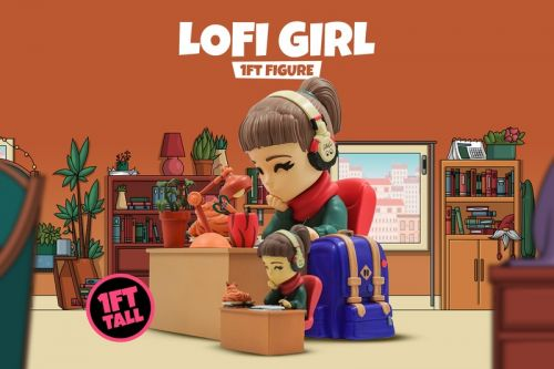 "Youtooz Readies a 1 ft Tall ""lofi hip hop radio"" Girl Figure"