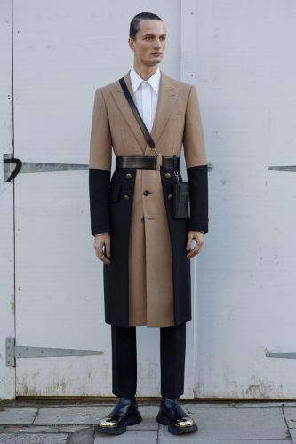 Alexander McQueen Delivers Sharp Lines with Fall '20 Collection