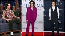Timothée Chalamet Does Clothes Good, And More Must-See Celeb Outfits