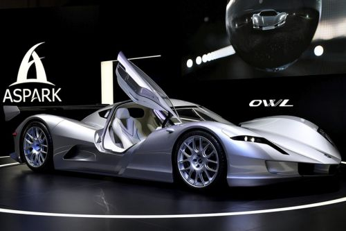 The Aspark Owl Electric Supercar Just Did 0-60 in Under 2 Seconds