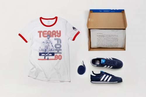 Adidas Terry Fox Collection Celebrates the Marathon of Hope's 40th Anniversary