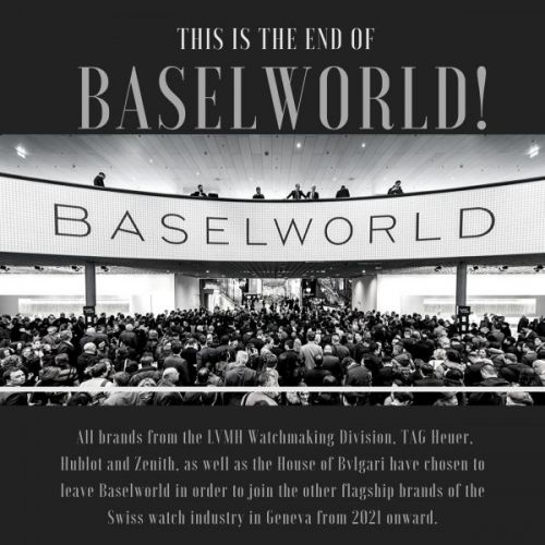 This Is the End of Baselworld!