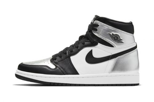 """Official Images of the Air Jordan 1 """"Silver Toe"""""""