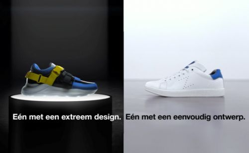 Dutch retailer launches campaign on difference between cheap and expensive sneakers
