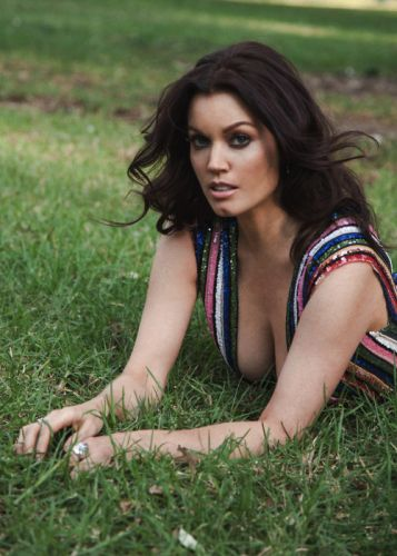 Bellamyyoung heats up the pages of vulkanmagazine wearing a