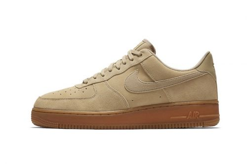 Nike's Air Force 1 Low Takes on a Tonal Mushroom Suede Color Scheme